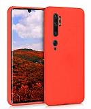 Eiroo Lansman Xiaomi Mi Note 10 Pro Kırmızı Silikon Kılıf