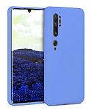 Eiroo Lansman Xiaomi Mi Note 10 Pro Mavi Silikon Kılıf