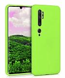 Eiroo Lansman Xiaomi Mi Note 10 Pro Yeşil Silikon Kılıf