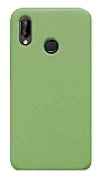 Eiroo Lansman Xiaomi Redmi 7 Yeşil Silikon Kılıf