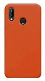 Eiroo Lansman Xiaomi Redmi 7 Turuncu Silikon Kılıf