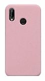 Eiroo Lansman Xiaomi Redmi 7 Pembe Silikon Kılıf