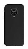 Eiroo Lansman Xiaomi Redmi Note 9 Pro Siyah Silikon Kılıf
