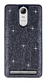 Eiroo Lenovo Vibe K5 Note Taşlı Siyah Silikon Kılıf