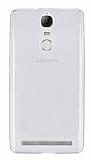 Lenovo Vibe K5 Note Ultra İnce Şeffaf Silikon Kılıf