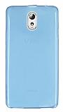 Eiroo Lenovo Vibe P1m Ultra �nce �effaf Mavi Silikon K�l�f