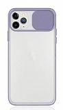Eiroo Lens Series iPhone 11 Pro Lila Silikon Kılıf