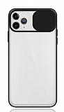Eiroo Lens Series iPhone 11 Pro Siyah Silikon Kılıf