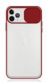 Eiroo Lens Series iPhone 11 Pro Kırmızı Silikon Kılıf