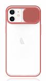 Eiroo Lens Series iPhone 12 / iPhone 12 Pro 6.1 inç Pembe Silikon Kılıf