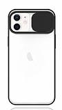 Eiroo Lens Series iPhone 12 / iPhone 12 Pro 6.1 inç Siyah Silikon Kılıf