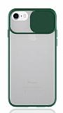 Eiroo Lens Series iPhone 7 / 8 Yeşil Silikon Kılıf