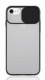 Eiroo Lens Series iPhone 7 / 8 Siyah Silikon Kılıf