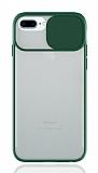 Eiroo Lens Series iPhone 7 Plus / 8 Plus Yeşil Silikon Kılıf