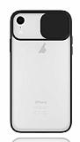 Eiroo Lens Series iPhone XR Siyah Silikon Kılıf