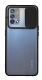 Eiroo Lens Series Oppo A74 Siyah Silikon Kılıf