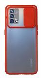 Eiroo Lens Series Oppo A74 Kırmızı Silikon Kılıf