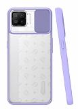 Eiroo Lens Series Oppo A73 Lila Silikon Kılıf