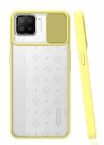Eiroo Lens Series Oppo A73 Sarı Silikon Kılıf