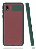 Eiroo Lens Series Samsung Galaxy A01 Core Yeşil Silikon Kılıf