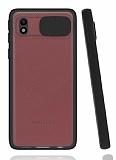 Eiroo Lens Series Samsung Galaxy A01 Core Siyah Silikon Kılıf