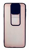 Eiroo Lens Series Samsung Galaxy J7 Prime Lacivert Silikon Kılıf