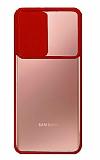 Eiroo Lens Series Samsung Galaxy Note 20 Ultra Kırmızı Silikon Kılıf