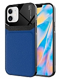 Eiroo Harbor iPhone 12 6.1 inç Mavi Silikon Kılıf