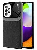 Eiroo Harbor Samsung Galaxy A52 / Galaxy A52 5G Siyah Silikon Kılıf