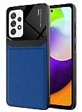 Eiroo Harbor Samsung Galaxy A52 / Galaxy A52 5G Lacivert Silikon Kılıf