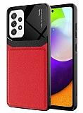 Eiroo Harbor Samsung Galaxy A52 / Galaxy A52 5G Kırmızı Silikon Kılıf