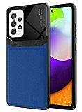 Eiroo Harbor Samsung Galaxy A72 / Galaxy A72 5G Lacivert Silikon Kılıf