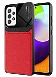Eiroo Harbor Samsung Galaxy A72 / Galaxy A72 5G Kırmızı Silikon Kılıf