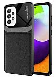 Eiroo Harbor Samsung Galaxy A72 / Galaxy A72 5G Siyah Silikon Kılıf