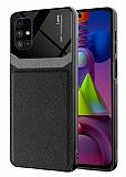 Eiroo Harbor Samsung Galaxy M51 Siyah Silikon Kılıf