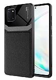 Eiroo Harbor Samsung Galaxy Note 10 Lite Siyah Silikon Kılıf