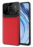 Eiroo Harbor Xiaomi Redmi Note 9 Pro Max Kırmızı Silikon Kılıf