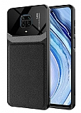 Eiroo Harbor Xiaomi Redmi Note 9 Pro Max Siyah Silikon Kılıf