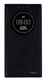 Eiroo LG G Flex 2 Gizli Mıknatıslı Uyku Modlu Siyah Kılıf