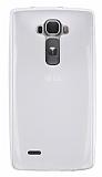 LG G Flex 2 Ultra İnce Şeffaf Silikon Kılıf