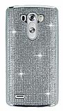 Eiroo LG G3 Ta�l� Silver Silikon K�l�f