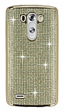 Eiroo LG G3 Ta�l� Gold Silikon K�l�f