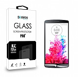 Eiroo LG G3 Tempered Glass Cam Ekran Koruyucu
