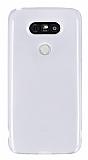 LG G5 Ultra İnce Şeffaf Silikon Kılıf