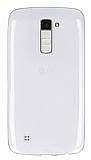LG K10 Ultra İnce Şeffaf Silikon Kılıf