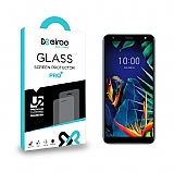 Eiroo LG K40 Tempered Glass Cam Ekran Koruyucu