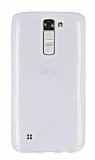 LG K7 Ultra İnce Şeffaf Silikon Kılıf