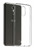 LG K9 Ultra İnce Şeffaf Silikon Kılıf