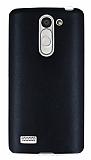 Eiroo LG L Bello Ultra �nce Deri Siyah Silikon K�l�f