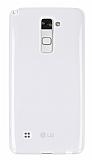 Eiroo LG Stylus 2 Ultra İnce Şeffaf Silikon Kılıf